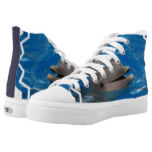 Lovable Dolphin High-Top Sneakers